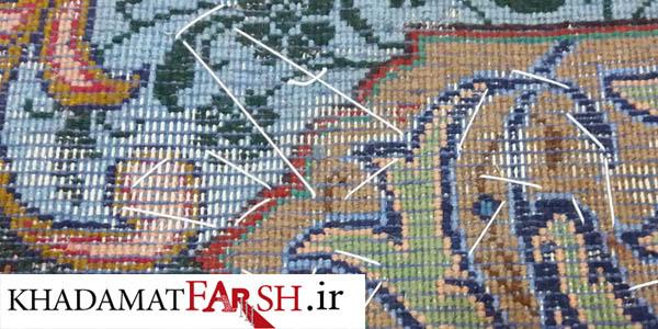 بیدخوردگی فرش دستباف در ابعاد گسترده تر و بیشتر